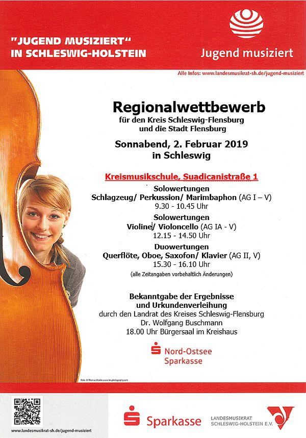 Regionalwettbewerb 'Jugend musiziert'