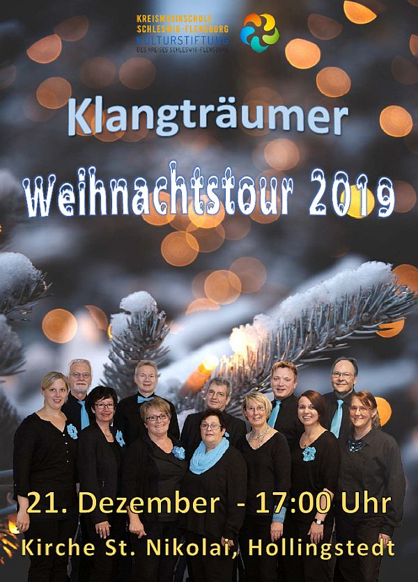 Klangträumer Weihnachtstour 2019