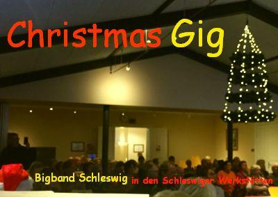 Christmas-Gig in Schleswiger Werkstätten